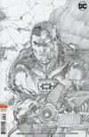 Cover for Justice League (DC, 2018 series) #5 [Jim Lee Pencils Only Variant Cover]