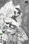 Cover Thumbnail for Justice League (2018 series) #6 [Jim Lee Pencils Only Variant Cover]