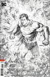 Cover for Justice League (DC, 2018 series) #7 [Jim Lee Pencils Only Variant Cover]