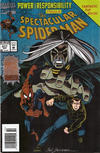 Cover Thumbnail for The Spectacular Spider-Man (1976 series) #217 [Flipbook] [Newsstand]