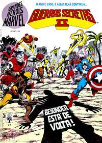 Cover Thumbnail for Grandes Heróis Marvel (Editora Abril, 1983 series) #27