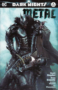 Cover Thumbnail for Dark Nights: Metal (DC, 2017 series) #6 [Bulletproof Comics Gabriele Dell'Otto Color Cover]