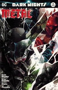 Cover Thumbnail for Dark Nights: Metal (DC, 2017 series) #6 [Exclusive Francesco Mattina Color Cover]