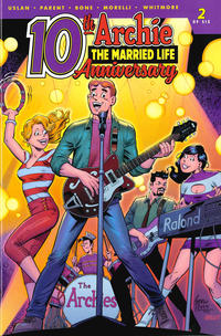 Cover Thumbnail for Archie: The Married Life - 10th Anniversary (Archie, 2019 series) #2 [Cover C]