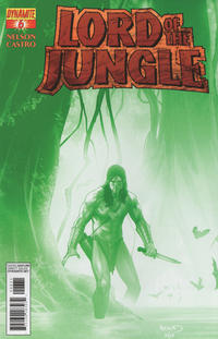 "Cover Thumbnail for Lord of the Jungle (Dynamite Entertainment, 2012 series) #6 [""Jungle Green"" Retailer Incentive Cover]"
