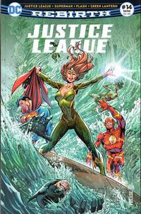 Cover Thumbnail for Justice League Rebirth (Urban Comics, 2017 series) #14