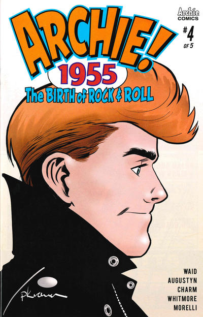 Cover for Archie 1955 (Archie, 2019 series) #4 [Cover A Peter Krause]