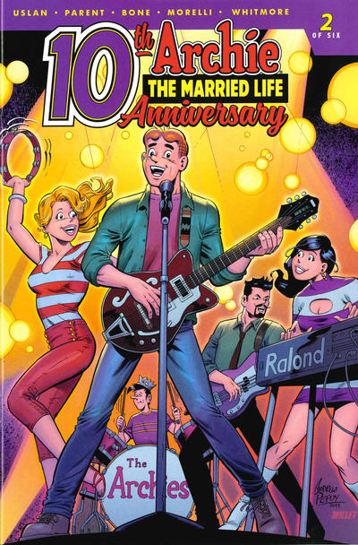 Cover for Archie: The Married Life - 10th Anniversary (Archie, 2019 series) #2 [Cover B - Jim Balent]
