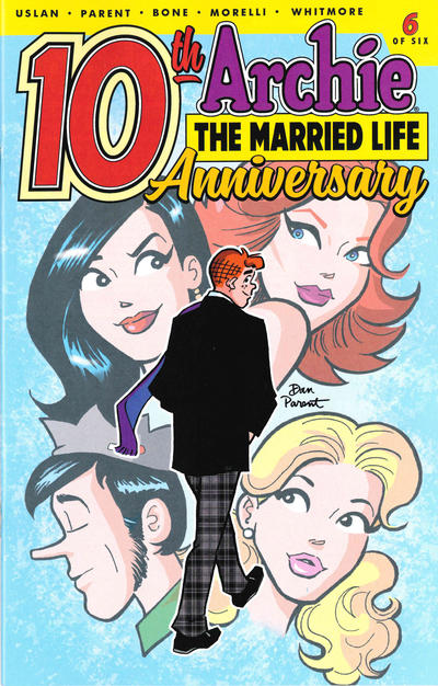 Cover for Archie: The Married Life - 10th Anniversary (Archie, 2019 series) #6