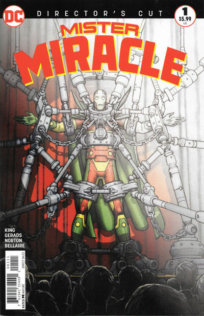 Cover for Mister Miracle #1 Director's Cut (DC, 2018 series) #1