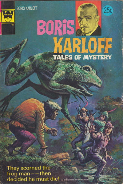 Cover for Boris Karloff Tales of Mystery (Western, 1963 series) #55 [Gold Key]