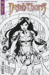 Cover for Dejah Thoris (Dynamite Entertainment, 2018 series) #1 [Cover E Black and White Mike McKone]
