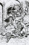 Cover Thumbnail for Dejah Thoris (2019 series) #4 [Bonus FOC Cover Roberto Castro Black and White Virgin]