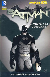 Cover Thumbnail for Batman: A Noite das Corujas (Panini Brasil, 2015 series)