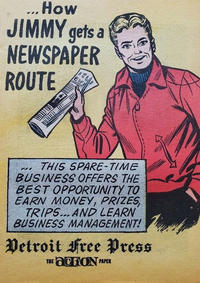 Cover Thumbnail for How Jimmy Gets a Newspaper Route (American Comics Group, 1967 series)
