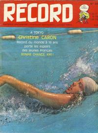 Cover Thumbnail for Record (Bayard Presse, 1962 series) #34