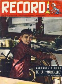 Cover Thumbnail for Record (Bayard Presse, 1962 series) #16