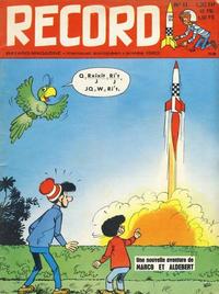 Cover Thumbnail for Record (Bayard Presse, 1962 series) #11