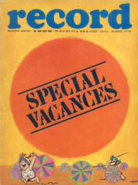 Cover Thumbnail for Record (Bayard Presse, 1962 series) #66-67-68