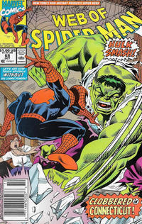 Cover Thumbnail for Web of Spider-Man (Marvel, 1985 series) #69 [Mark Jewelers]