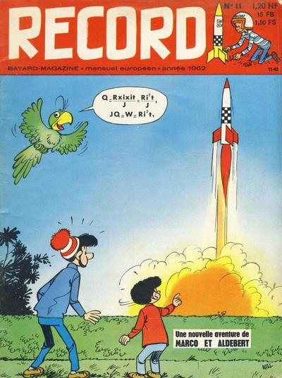 Cover for Record (Bayard Presse, 1962 series) #11