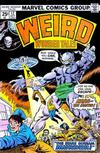 Cover for Weird Wonder Tales (Marvel, 1973 series) #12