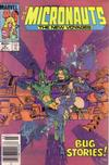 Cover Thumbnail for Micronauts (1984 series) #6 [Newsstand]