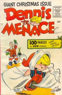 Cover Thumbnail for Dennis the Menace Giant Christmas Issue (Pines, 1955 series)