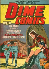 Cover Thumbnail for Dime Comics (Bell Features, 1942 series) #30