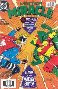 Cover Thumbnail for Mister Miracle (DC, 1989 series) #10 [Direct]