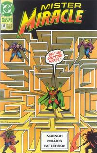 Cover Thumbnail for Mister Miracle (DC, 1989 series) #15 [Direct]