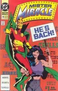 Cover Thumbnail for Mister Miracle (DC, 1989 series) #19 [Direct]