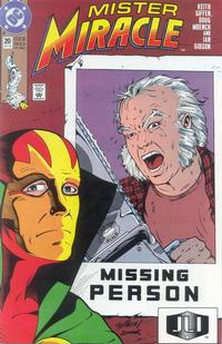 Cover Thumbnail for Mister Miracle (DC, 1989 series) #20 [Direct]