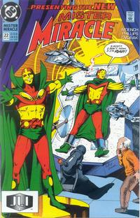 Cover Thumbnail for Mister Miracle (DC, 1989 series) #22 [Direct]