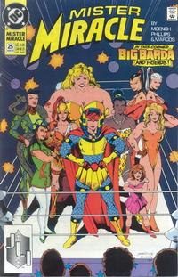 Cover Thumbnail for Mister Miracle (DC, 1989 series) #25 [Direct]