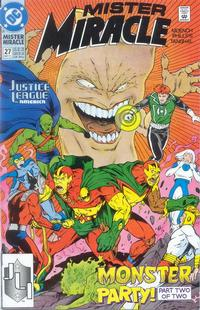 Cover Thumbnail for Mister Miracle (DC, 1989 series) #27