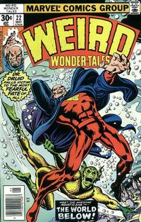 Cover Thumbnail for Weird Wonder Tales (Marvel, 1973 series) #22