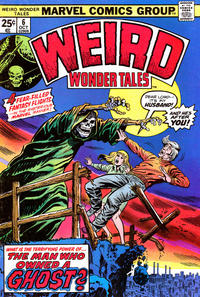 Cover Thumbnail for Weird Wonder Tales (Marvel, 1973 series) #6