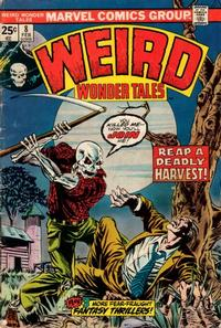 Cover Thumbnail for Weird Wonder Tales (Marvel, 1973 series) #8