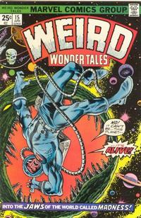 Cover Thumbnail for Weird Wonder Tales (Marvel, 1973 series) #15