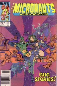 Cover Thumbnail for Micronauts (Marvel, 1984 series) #6 [Newsstand]