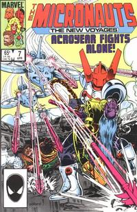 Cover Thumbnail for Micronauts (Marvel, 1984 series) #7 [Direct]
