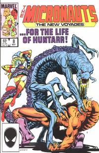 Cover Thumbnail for Micronauts (Marvel, 1984 series) #8 [Direct]