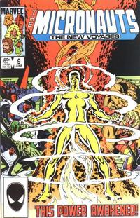 Cover Thumbnail for Micronauts (Marvel, 1984 series) #9 [Direct]