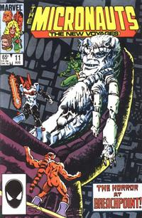 Cover Thumbnail for Micronauts (Marvel, 1984 series) #11 [Direct]