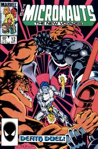 Cover Thumbnail for Micronauts (Marvel, 1984 series) #12 [Direct]