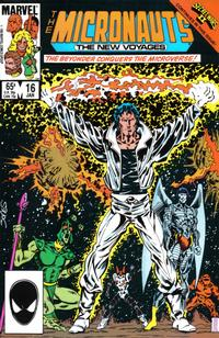 Cover Thumbnail for Micronauts (Marvel, 1984 series) #16 [Direct]