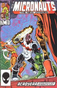 Cover Thumbnail for Micronauts (Marvel, 1984 series) #18 [Direct]