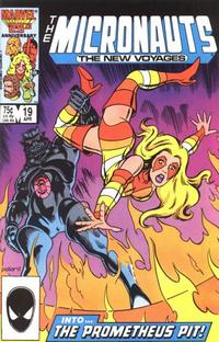 Cover Thumbnail for Micronauts (Marvel, 1984 series) #19 [Direct]