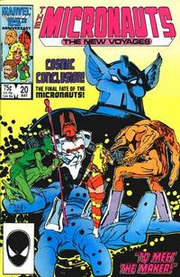 Cover Thumbnail for Micronauts (Marvel, 1984 series) #20